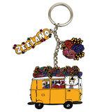 sleutelhanger gele bus