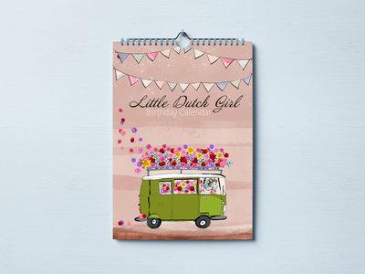 Little Dutch Girl verjaardagskalender
