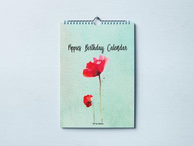 Verjaardagskalender Poppy